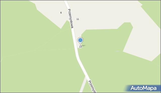 Luzino, Przemysłowa, 13, mapa Luzino