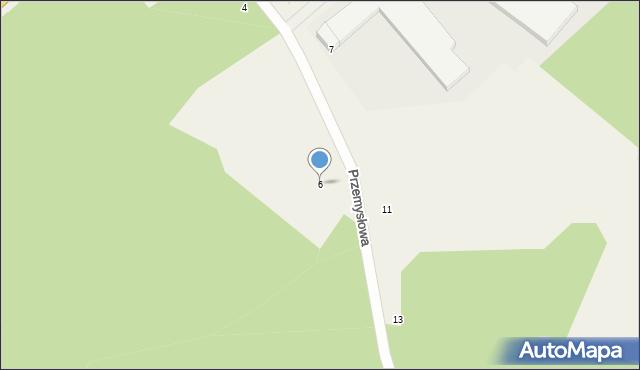 Luzino, Przemysłowa, 6, mapa Luzino