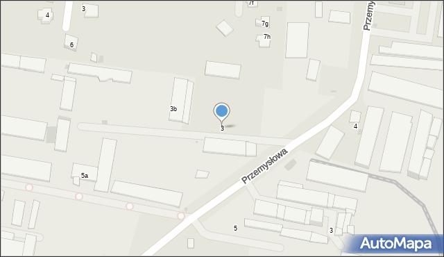 Mogilno, Przemysłowa, 3, mapa Mogilno