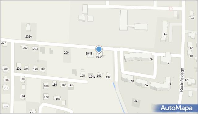 Prałkowce, Prałkowce, 193A, mapa Prałkowce