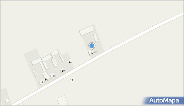 Przestrzele, Przestrzele, 12, mapa Przestrzele