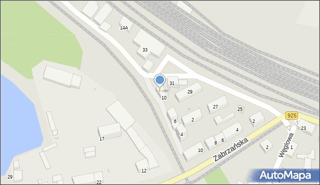 Ruda Śląska, Przedtorze, 12, mapa Rudy Śląskiej