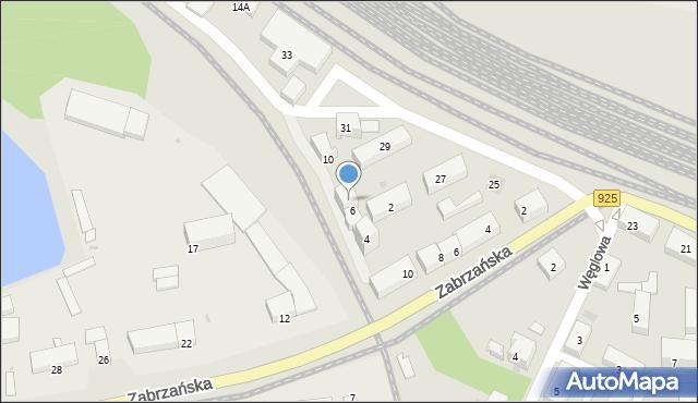Ruda Śląska, Przedtorze, 8, mapa Rudy Śląskiej