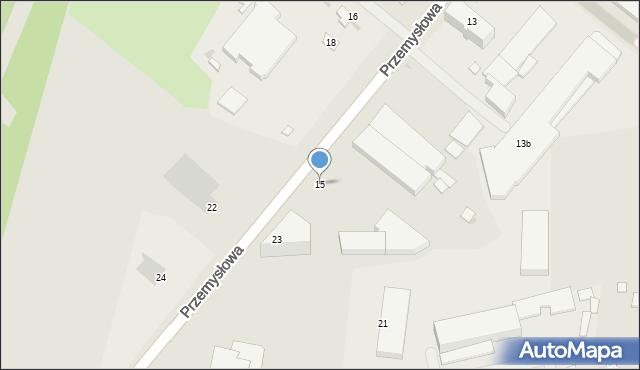 Rzeszów, Przemysłowa, 15, mapa Rzeszów