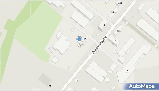 Rzeszów, Przemysłowa, 18, mapa Rzeszów
