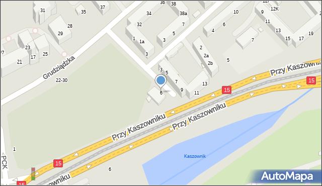 Toruń, Przy Rynku Wełnianym, 6, mapa Torunia