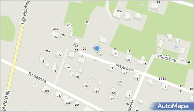 Toruń, Przyjemna, 28, mapa Torunia