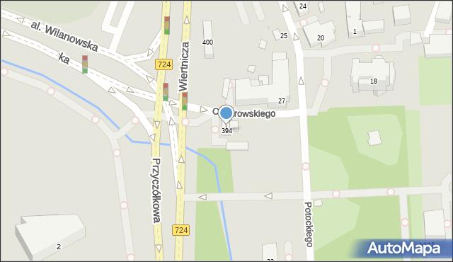 Warszawa, Przyczółkowa, 394, mapa Warszawy