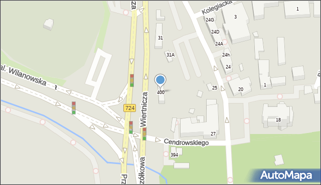 Warszawa, Przyczółkowa, 400, mapa Warszawy