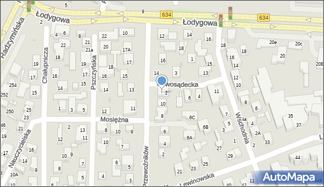 Warszawa, Przewoźników, 12, mapa Warszawy