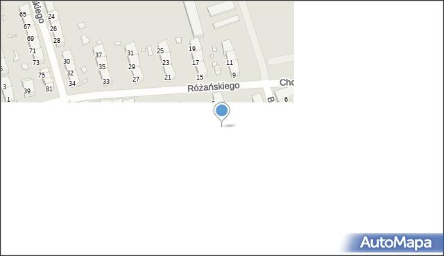 Zabrze, Przerwy-Tetmajera Kazimierza, 5, mapa Zabrza