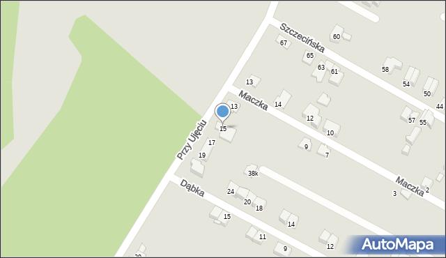 Zabrze, Przy Ujęciu, 15, mapa Zabrza
