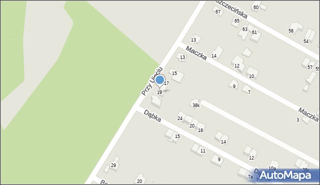 Zabrze, Przy Ujęciu, 19, mapa Zabrza