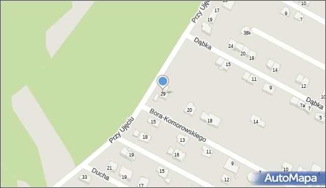 Zabrze, Przy Ujęciu, 29, mapa Zabrza