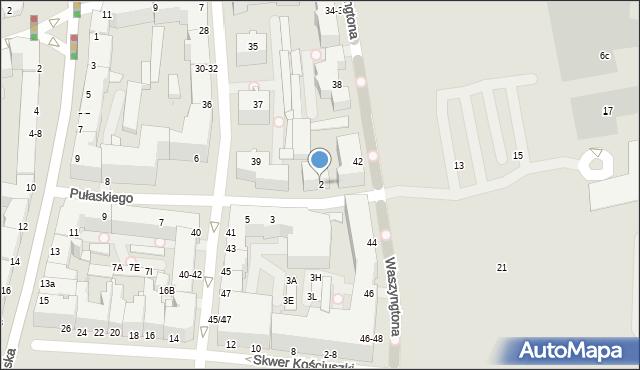 Gdynia, Pułaskiego Kazimierza, gen., 2, mapa Gdyni