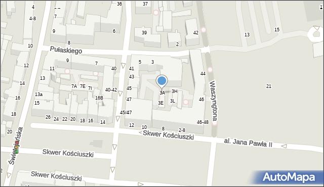 Gdynia, Pułaskiego Kazimierza, gen., 3A, mapa Gdyni