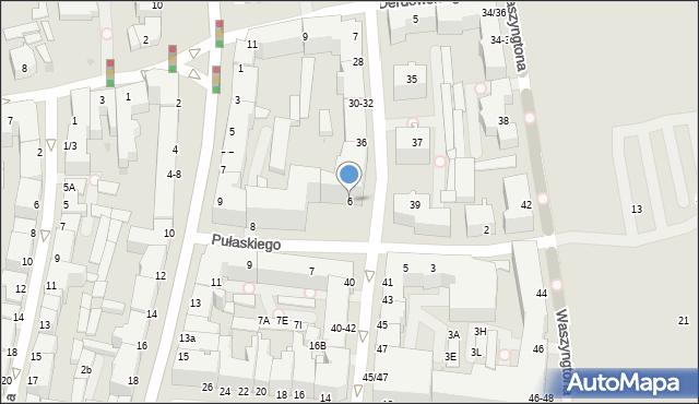 Gdynia, Pułaskiego Kazimierza, gen., 6, mapa Gdyni