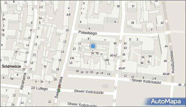 Gdynia, Pułaskiego Kazimierza, gen., 7B, mapa Gdyni