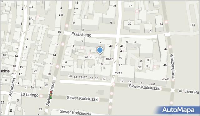 Gdynia, Pułaskiego Kazimierza, gen., 7K, mapa Gdyni