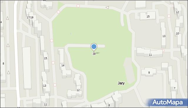 Warszawa, Puszczyka, 19, mapa Warszawy