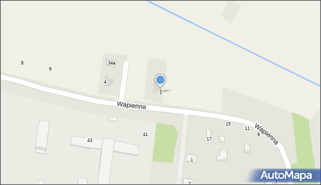 Cerekiew, Radomska, 2, mapa Cerekiew