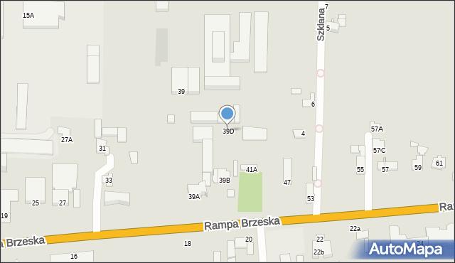 Chełm, Rampa Brzeska, 39D, mapa Chełma