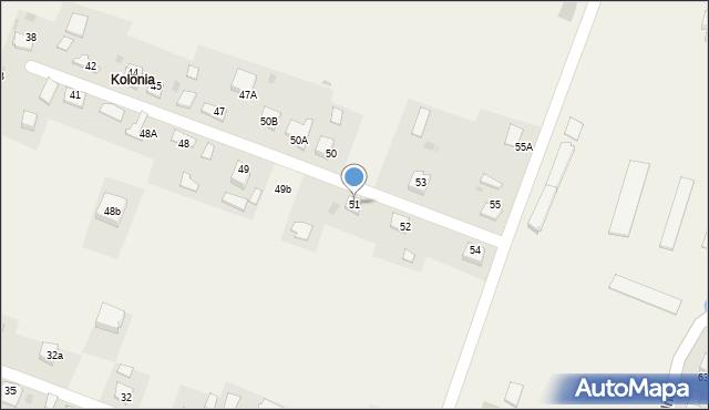Radlna, Radlna, 51, mapa Radlna