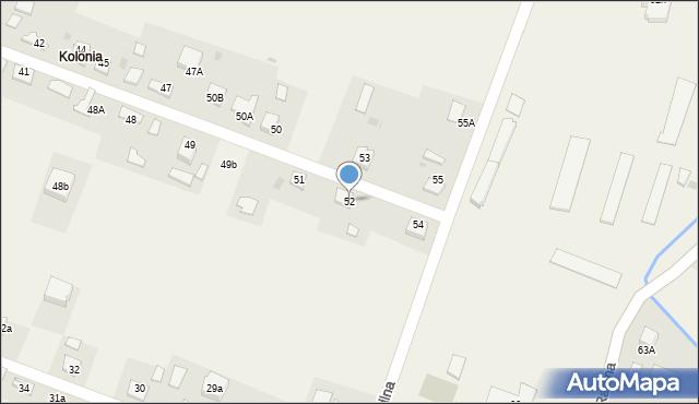 Radlna, Radlna, 52, mapa Radlna