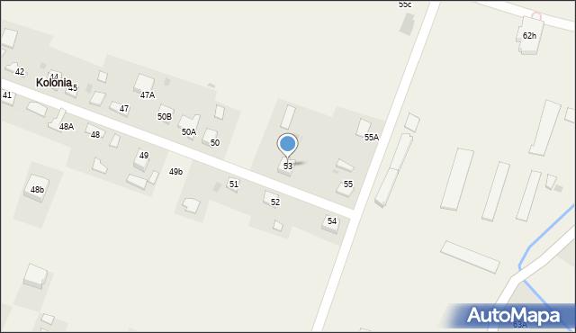Radlna, Radlna, 53, mapa Radlna