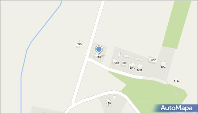 Radlna, Radlna, 59, mapa Radlna