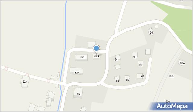 Radlna, Radlna, 62A, mapa Radlna