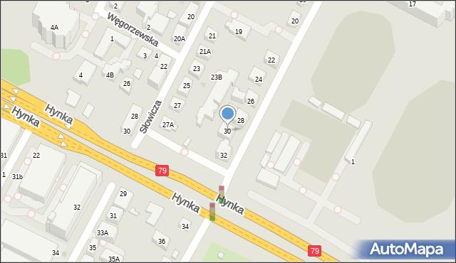 Warszawa, Radarowa, 30, mapa Warszawy