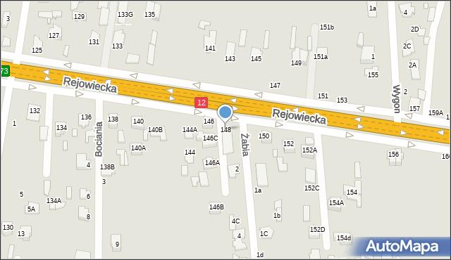 Chełm, Rejowiecka, 148, mapa Chełma