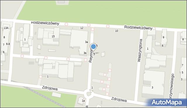 Kołobrzeg, Reymonta Władysława, 15, mapa Kołobrzegu