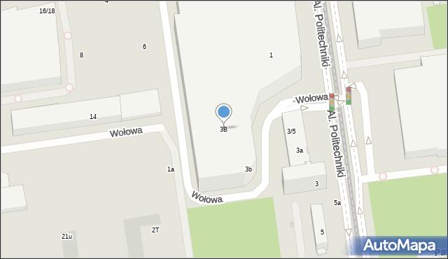 Łódź, Rembielińskiego Rajmunda, 3B, mapa Łodzi