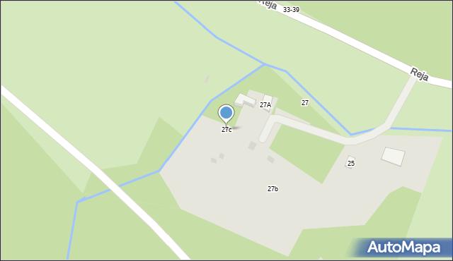 Sopot, Reja Mikołaja, 27c, mapa Sopotu