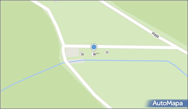 Sopot, Reja Mikołaja, 36, mapa Sopotu