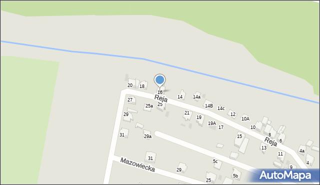 Tarnowskie Góry, Reja Mikołaja, 16, mapa Tarnowskie Góry