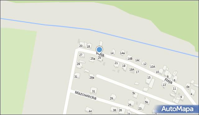 Tarnowskie Góry, Reja Mikołaja, 25, mapa Tarnowskie Góry