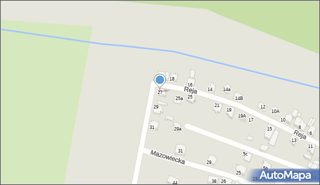 Tarnowskie Góry, Reja Mikołaja, 27, mapa Tarnowskie Góry
