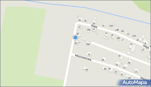 Tarnowskie Góry, Reja Mikołaja, 31, mapa Tarnowskie Góry