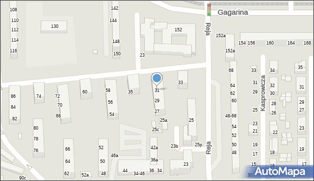 Toruń, Reja Mikołaja, 31, mapa Torunia