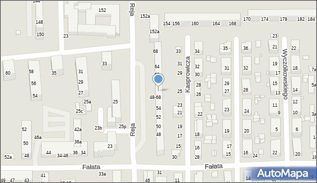 Toruń, Reja Mikołaja, 58, mapa Torunia