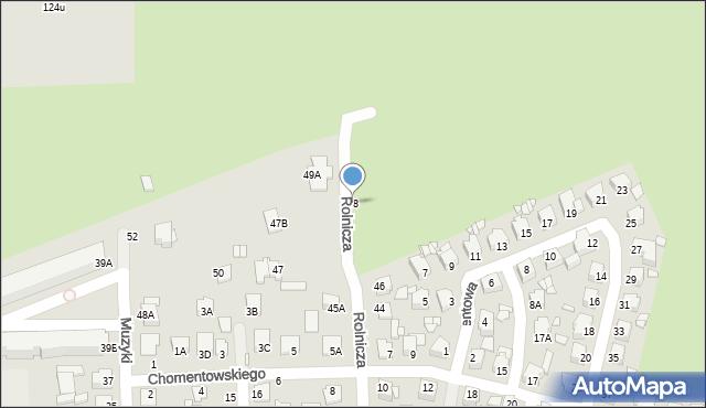 Chełm, Rolnicza, 48, mapa Chełma