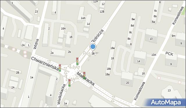 Gdynia, Rolnicza, 61, mapa Gdyni