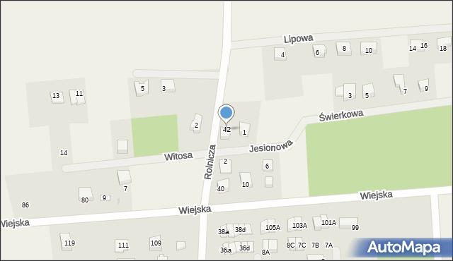 Kębłowo, Rolnicza, 42, mapa Kębłowo