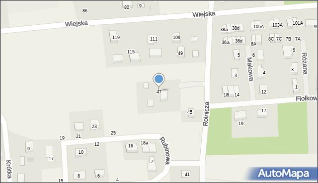 Kębłowo, Rolnicza, 47, mapa Kębłowo