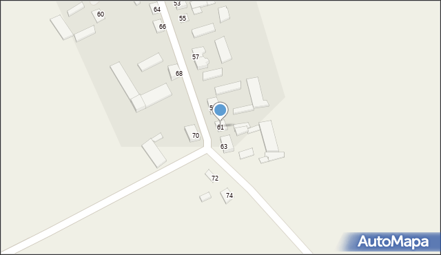 Rostkowo, Rostkowo, 61, mapa Rostkowo