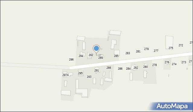 Rożdżałów, Rożdżałów, 290, mapa Rożdżałów