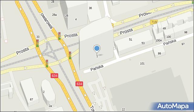 Warszawa, Rondo Daszyńskiego Ignacego, 1, mapa Warszawy
